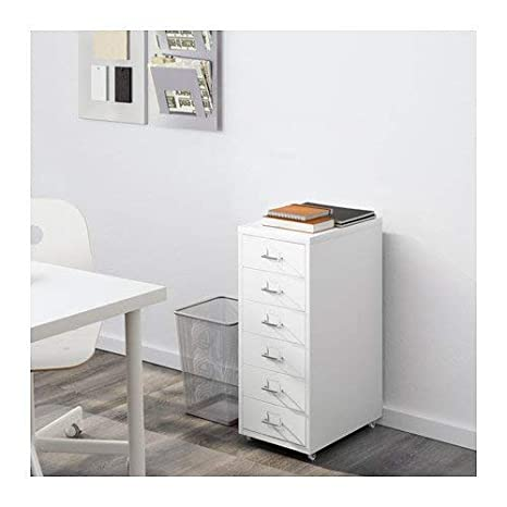 Amazon.com: Ikea Helmer Cajonera con ruedas: Kitchen & Dining