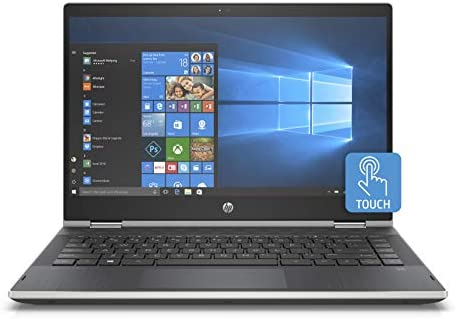 Hp Pavilion X360 14 Inch Convertible Touchscreen Laptop 8th Gen Intel Core I5 8265u 8 Gb Ram 512 Gb Solid State Drive Windows 10 Home 14 Cd1020nr Natural Silver Amazon Sg Electronics