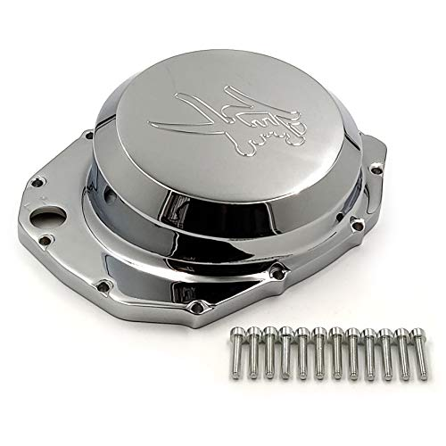 HTT- Engine Clutch Cover For Suzuki GSXR1300 Hayabusa 1999-2013 / Suzuki B-king 2008-2009 Chrome Right Side