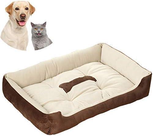 Galaxer Cama para Perros, Perro Gato 70*52cm Mascota Colchón ...