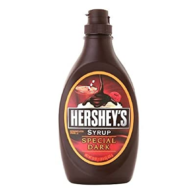 Hershey's Syrup Bottle, Special Dark 22 oz (Pack of 2)