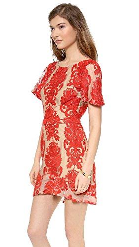 For Love & Lemons Women's San Marcos Mini Dress, Red, Medium by For Love & Lemons (Image #3)