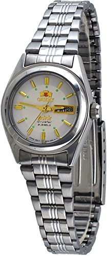 orient white dial watch - 2
