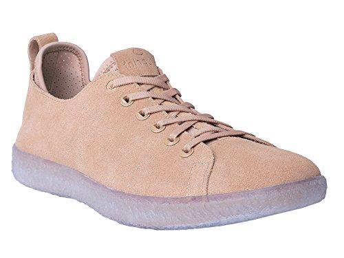 BluPrint Los Angeles Herren Wildleder Casual Sport / Freizeit-Sneaker mit BluPrint CLOUD IMPRINT Komfort-Technologie - Größe 9,5 - Sand