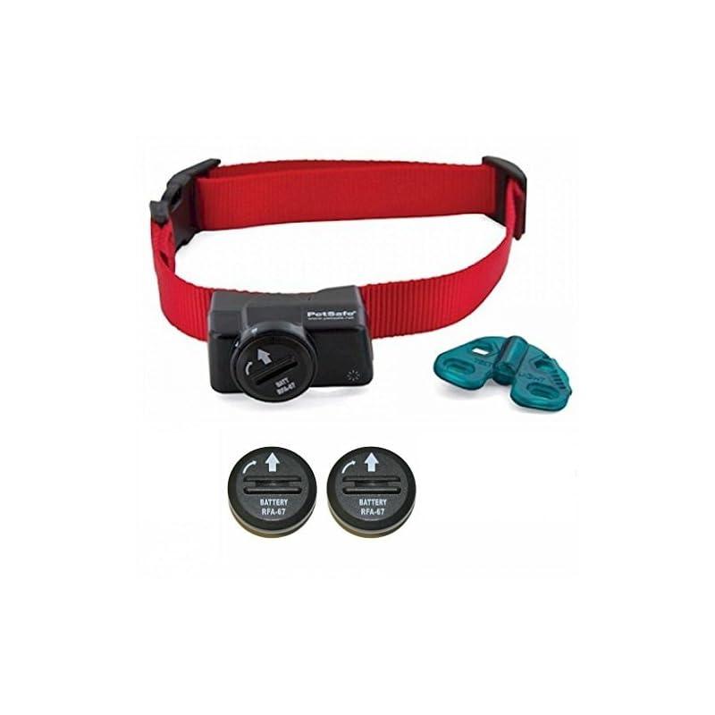 dog supplies online petsafe wireless fence collar - waterproof receiver - 5 adjustable levels of correction. - pif-275-19 - bonus 2 batteries