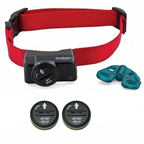 (Petsafe Wireless Fence Collar - Waterproof Receiver - 5 Adjustable Levels of correction. - PIF-275-19 - Bonus 2 Batteries)