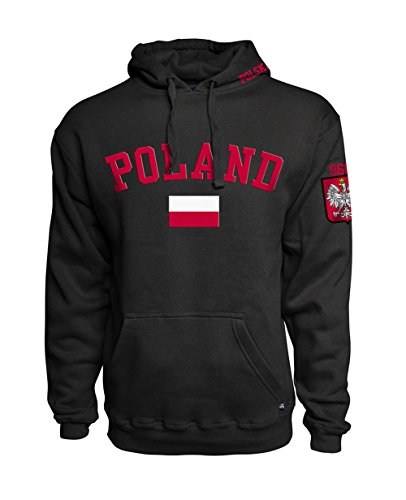 Sports Outlet Express Polska Polish Flag Hoodie Poland Est. 966
