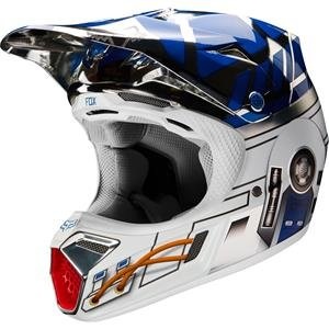 Fox Racing – V3 edición limitada R2D2 – Casco Adulto Lrg – 17693 ...