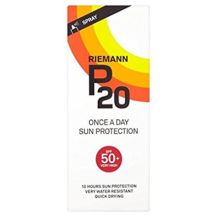 Riemann P20 SPF50+ 1 Day/10 Hour Protection 200ml (Best Once A Day Sunscreen)