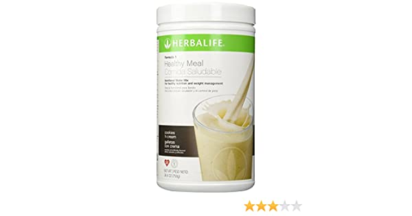 Herbalife F1 Cookies and Cream batido nutricional
