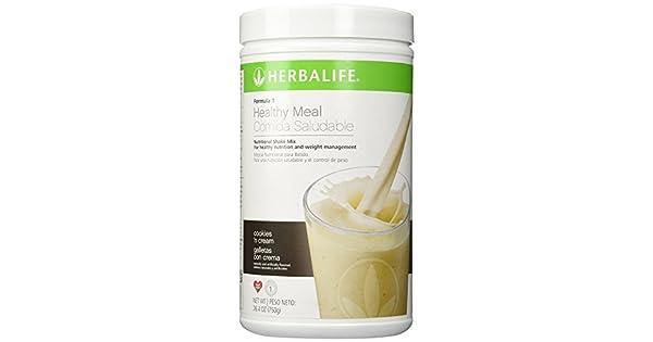 Amazon.com: Herbalife F1 Mezcla para batido sabor Galletas y ...