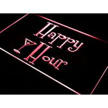 ADV PRO i558-r Happy Hours Bar Pub OPEN Beer Neon Light Sign