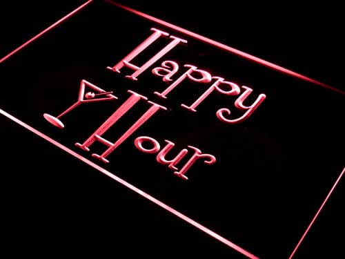 Portland Mall ADVPRO i558-r Happy Hours Bar Pub Beer Neon Limited time trial price Open Sign Light