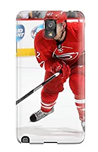 Galaxy Note 3 Hard Back With Bumper Silicone Gel Tpu Case Cover Carolina Hurricanes (38) by mcsharks