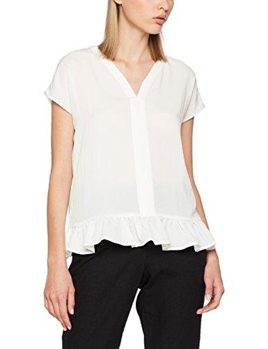 Vero Moda Vmhenna Ss Midi Top a, Camiseta sin Mangas para Mujer Blanco (Snow White)