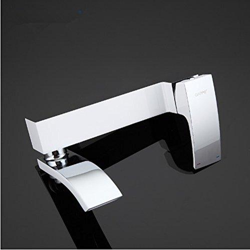 Gowe Bathtub Faucet bathroom faucet bathroom taps wall mount Brass bathtub mixer bath mixer sink faucet waterfall faucet 2