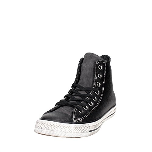Converse Ct As Hi Leather158963 Black Sneaker Uomo 42½