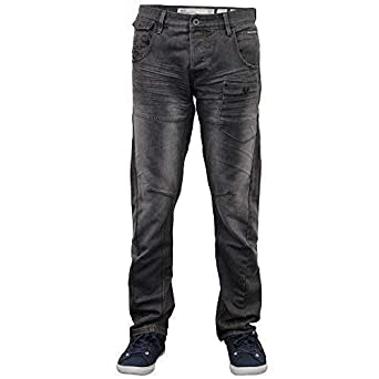 af9086bd1faf Herren Twisted Leg Konisch Regular Fit Chino Jeans By Crosshatch  Amazon.de   Bekleidung