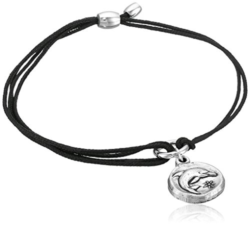 Alex and Ani Women's Kindred Cord Bracelet Dolphin/Silver One ()