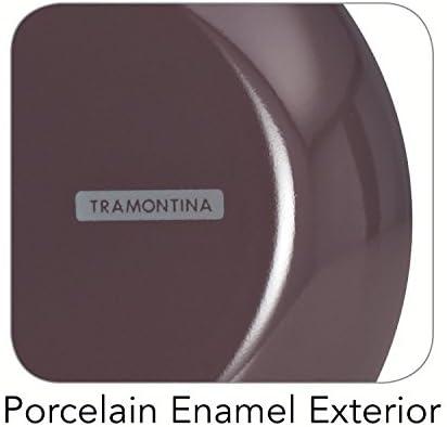 Tramontina 80151/065ds Style Cuisine Facile en Aluminium, sans PFOA Poêle à Frire antiadhésive, 20,3cm, Prune, fabriqué aux États-Unis