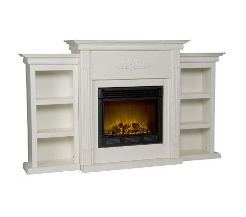 Holly & Martin Fredricksburg Electric Fireplace w/ Bookcases