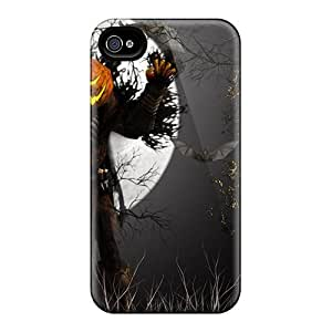 6 Scratch-proof Protection Cases Covers For Iphone/ Hot Pumpkin Monster Halloween Phone Cases
