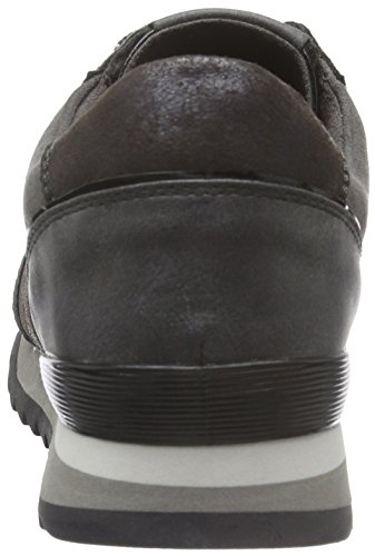 Metal Marco Plateado Pewter para Mujer 23714 959 Tozzi Zapatillas raYwqP0r