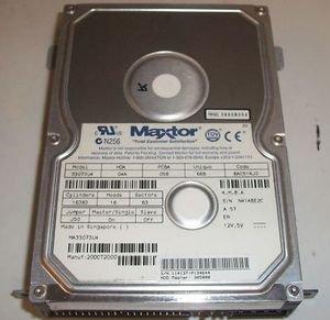 MAXTOR HARD DRIVE:10GB, IDE DRIVE MOD: 91008D7
