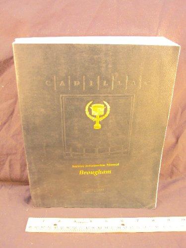 1991 - 1992 CADILLAC Brougham Shop Service Repair Manual Book