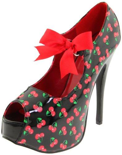 Pinup Couture Teeze-25-3 - sexy zapatos de tacón alto mujer plataforma - tamaño 36-42, US-Damen:EU-41/42 / US-11 / UK-8