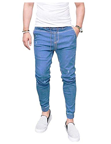 ADELINA Skinny Hellblau Stretch Denim Pants Pantalones Denim Fashion Jeans Pants Pants Jogg Vintage Pants Ropa Biker Casual a0qzaIr