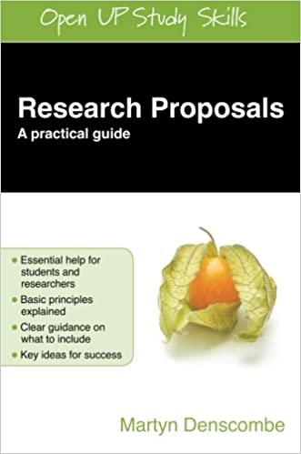 Research Proposals A Practical Guide Open Up Study Skills Amazon