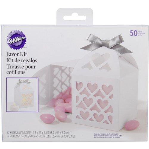 Wilton Paper Lantern Favor Box, White