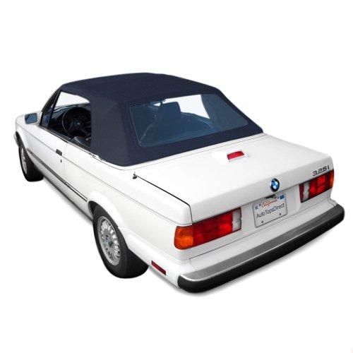 Sierra Auto Tops BMW 1987-1993 3 Series (E30) Convertible Top, Ger Classic Canvas, Blue