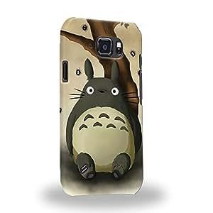 Case88 Premium Designs My Neighbor Totoro 0665 Carcasa/Funda dura para el Samsung Galaxy S6 Active