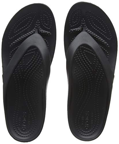 Crocs Women's Kadee II Flip Flop Sandal, Casual Lightweight Beach or Shower Shoe