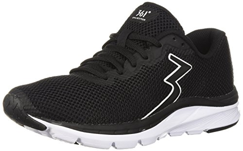 Black 361 White Black Running WoMen Enjector Shoe 361 nXfpS5