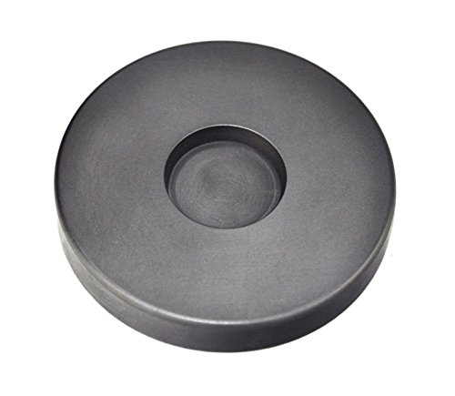 2 oz Troy Ounce Round Silver Graphite Ingot Coin Mold for Melting Casting Refining Scrap Metal Jewelry