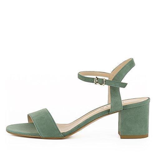 Rauleder Mariella Sandalette Evita Shoes Damen Olive n0qxOT