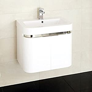 Vanity Unit With Basin For Bathroom Ensuite Cloakroom Wall - Sink with vanity unit
