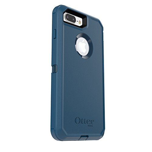 Price comparison product image OtterBox DEFENDER SERIES Case for iPhone 7 Plus (ONLY) - Frustration Free Packaging - Bespoke Way (Blazer Blue/Stormy Seas Blue)