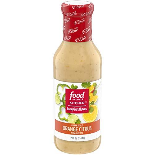 Food Network Kitchen Inspirations Cuban Style Orange Citrus Vinaigrette, 12 fl oz Bottle ()