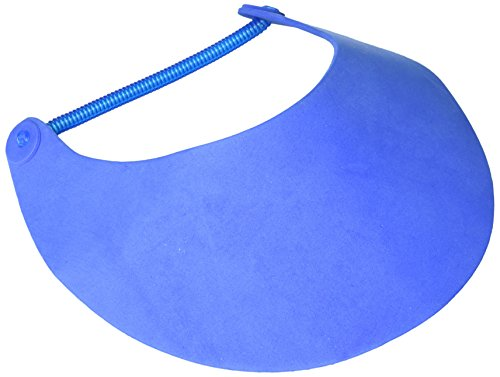 Darice Foamies Visor with Vinyl Coil-Royal Blue-8.75 x 3.75 Inches