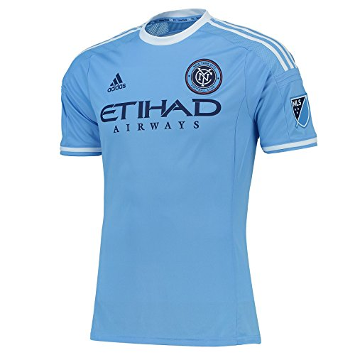 Adidas New York City FC MLS Men s Authentic On-Field Climalite S/S Jersey Camiseta: Amazon.es: Deportes y aire libre