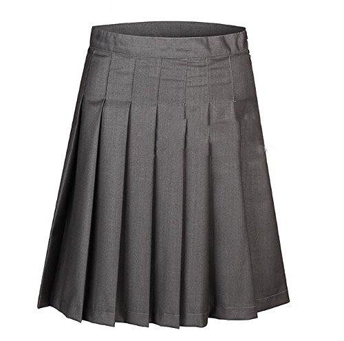 GoldBucket Unisex Adult Cosplay Costumes Robe Vest Shirt Skirt Tie (L, Skirt)