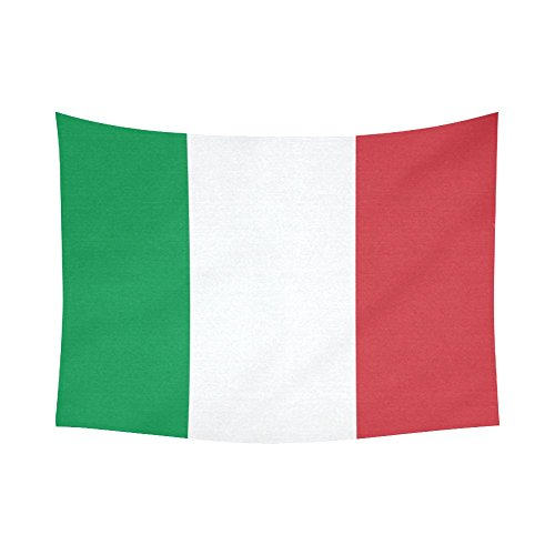 [JC-Dress Wall Tapestry Flag of Italy Cotton Linen Tapestries Hanging 60 x 80] (Italy Cotton Dress)