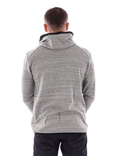 CMP Multi-Sportjacke Hoodie Freizeitjacke grau Taschen Gummibund Gr.50 3C25867