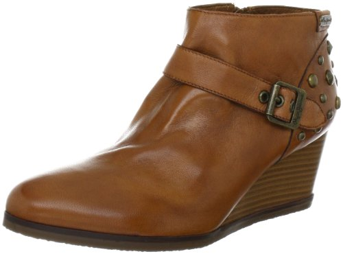Victoria Cognac Women's Wedges Boots Jeans Pepe SqaEwzx