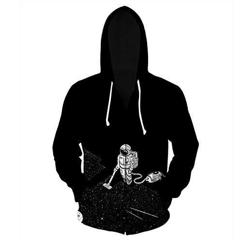 Sudaderas con Capucha de Manga Larga con Estampado Casual Estampadas para Hombres
