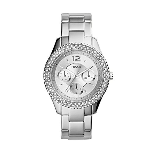 Fossil ES3588 Ladies Stella Silver Watch